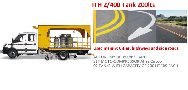 ITH 2/400 200Lts