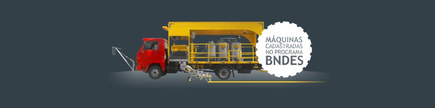 Máquinas cadastradas no programa BNDES