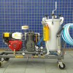 Máquina de demarcação viária manual