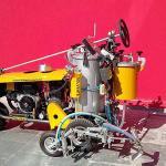 Máquina de pintura asfáltica